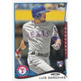 Bv Luis Sardiñas Rc Texas Rangers Topps Update 2014 #us-104