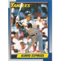 Cl27 Alvaro Espinoza Topps 1990 #791 3-50