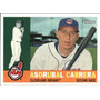 Bv Asdrubal Cabrera Cleveland Indians Topps Heritage 2009