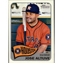 Bv Jose Altuve Houston Astros Topps Heritage 2014 #28