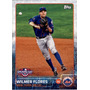 Bv Wilmer Flores New York Mets Topps Opening Day 2015 #158