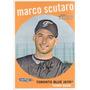 Bv Marco Scutaro Toronto Blue Jays Topps Heritage 2008 #646