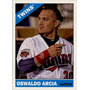 Bv Oswaldo Arcia Minnesota Twins Topps Heritage 2015 #190
