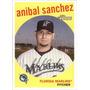 Cl27 2008 Topps Heritage #275 Anibal Sanchez 5-55