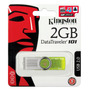 Pendrive Kingston 2 Gb Data Traveler 101 Gen 2 Green