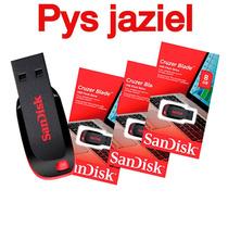 Pendrive Sandisk 8 Gb Nuevos Con Blister Totalmente Original