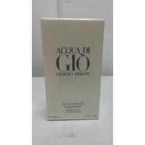 Perfume Aqua Di Gio Giorgio Armani Original Caballero 100ml