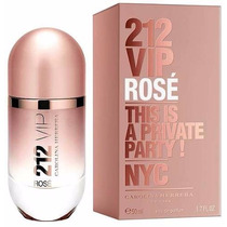 Perfumes Carolina Herrera 212 Vip Rose Perfume Damas 80ml