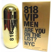 Perfume Para Caballero 818 Vip Men 100 Ml