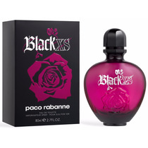 Perfume Paco Rabanne Black Xs For Her 80 Ml