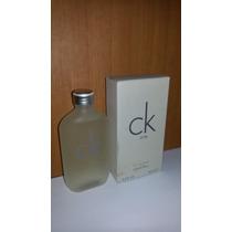 Calvin Klein Ck One 100 Ml Caballero Importado