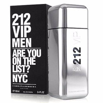 Perfume 212 Vip De Carolina Herrera 100 Ml !