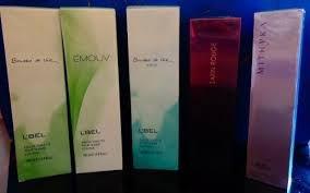 Perfumes Y Colonias Refrescantes De Lbel,esika,cyzone Y Avon