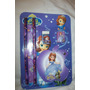 Set Escolar Princesa Sofia Minnion Libreta Lapiz Cotillon