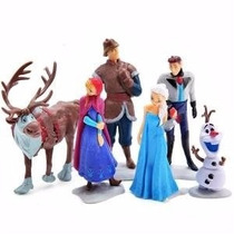 Set Frozen 3pz Juguetes Niña/niños Muñeca Ana Elsa Olaf Sven