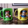 Taza, Pote, Pocillo, De Mickey Mouse Y Minnie