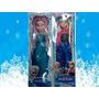 Muñeca Frozen Elsa Y Anna Canta Musica