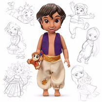 Muñeco De Aladdin De La Colección De Animación De Disney