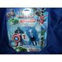 Muñeco Super Heroes +carro Set De 2piezas