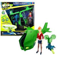 Ben 10 Ultimate Alien Vortex Helicoptero Y Figura Gwen