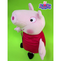 Peluche De Peppa Pig 28 Cm.