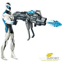 Muñeco De Max Steel Ultra Blast Con Luz Original Importado