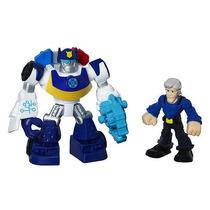Juguete Transformer Chase La Policia Y Jefe Burns