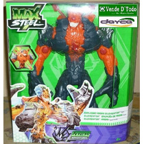 Juguete Nino Muneco Figura Max Steel Elementor Erupcion Magm