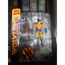Om1 Marvel Select Wolverine Figura De Coleccion