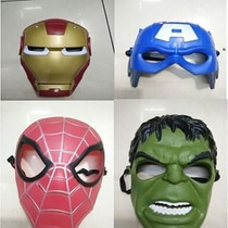 Mascaras De Los Vengadores Marvel, Hulk, Ironman, Capitan A
