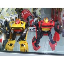 Robot Transformers Carro Bumblebee Juguete Niño 15cm