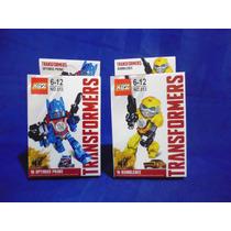 Transformers Juguete Optimus Prime Bumblebee Lego