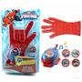 Guante Spiderman Ultimate Lanzador De Tazos