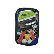 Set De Ping Pong Weston 2 Raquetas, 3 Pelotas, Malla. Estuch