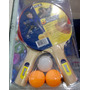 2 Raquetas Ping Pong + 3 Pelotas Stiga Modelo Blast