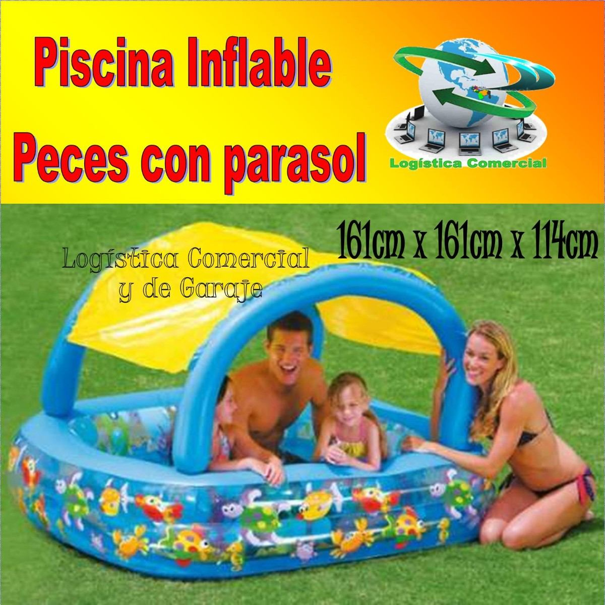 Piscinas inflables para beb s imagui for Piscina inflable ninos