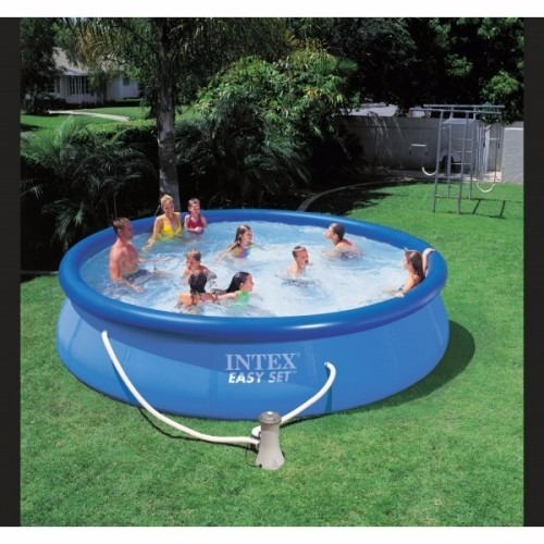 piscina inflable intex 457x91cm bomba filtrante