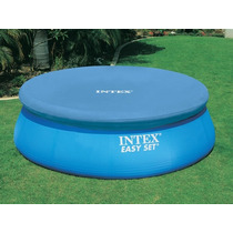 Cobertor 366cm Para Piscinas De Borde Inflable Marca Intex