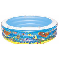 Piscina Familiar Inflable 3 Anillos 229 X 56cm