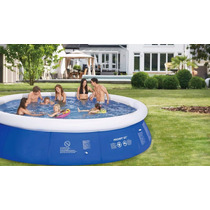 Piscina Familiar Inflable 420 X 90 Cm + Bomba Filtrante