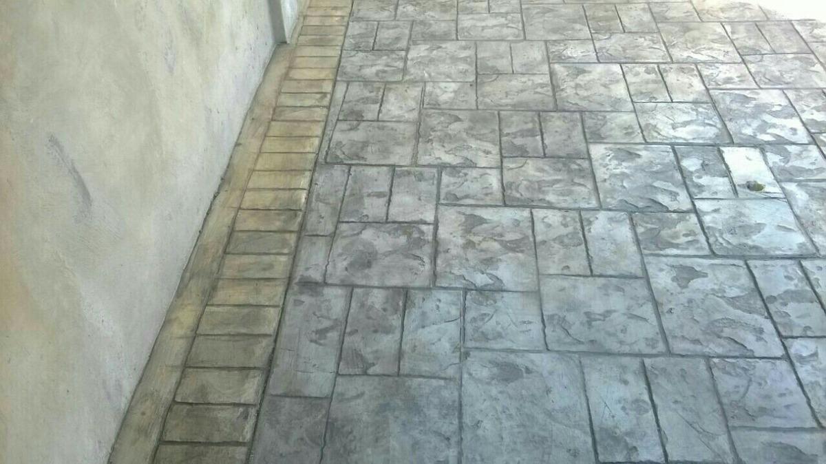 Pisos de concreto estampados valencia valencia en Cemento estampado precio