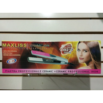 Plancha Profesional Maxliss E-70 Ceramic Ion Made In Usa