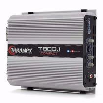 Amplificador Taramps T 800 1 Ch 2 Ohm 800 W Rms Full Rango