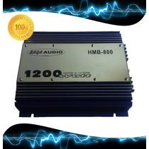 Planta, Amplificador Sonido Saga Audio 1200watts Para Carro