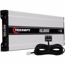 Amplificador Taramps Hd 8000 / 2 Y 1 Ohm 8000 W Rms 1 Ch