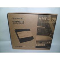 Amplificador Saga Audio Planta De Carro Hmb-800 1200w