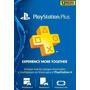 Tarjeta Playstation Plus 1 Año Psn Ps Ps4 Ps3 Vita
