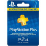 Tarjeta Playstation Plus Membresia1 Año Ps3 Ps4 Psvita