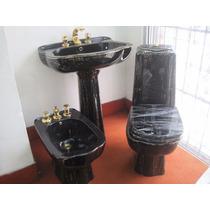 Serie Sogno Negra Dec.4008 C/lavamanos P/empotrar - 3pzas