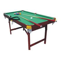 Mesa Grande Mini Pool 90x50x49 Cm 16bolas 2tacos 2tizas 1tri